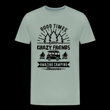 Amazing Camping Memories Shirt - Men's Premium T-Shirt