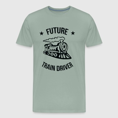 Future Train Driver Funny - Men's Premium T-Shirt