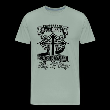 Love The Property Of Jesus Christ Shirt - Men's Premium T-Shirt