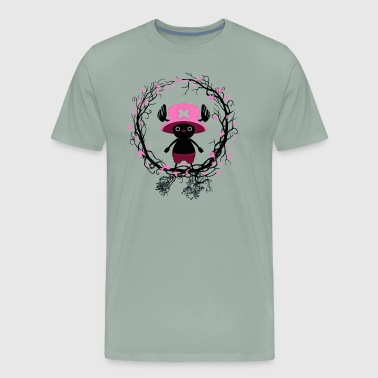 animal forest piece anime manga comic pirate - Men's Premium T-Shirt