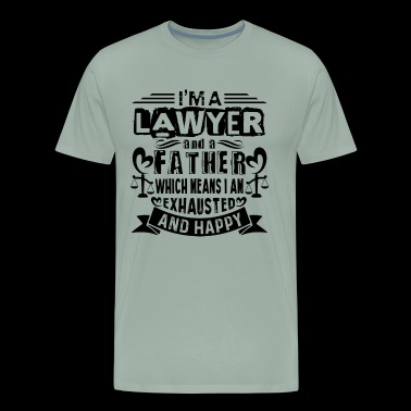 lawyer father Shirt - Men's Premium T-Shirt