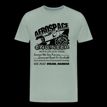 Aerospace Engineer Definition Shirt - Men's Premium T-Shirt