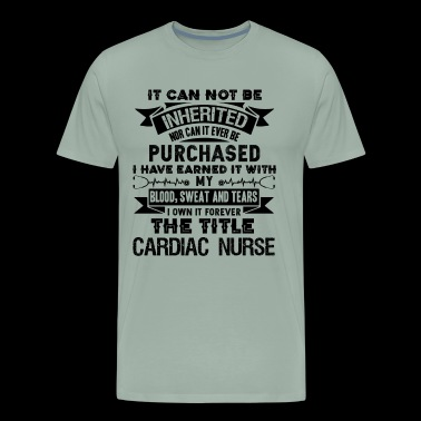 Cardiac Nurse Forever Title Shirt - Men's Premium T-Shirt