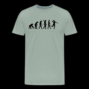 Dodgeball Evolution Shirt - Men's Premium T-Shirt