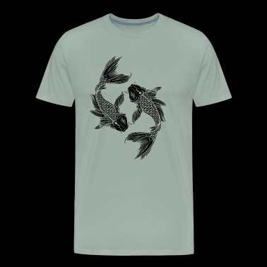 Koi Fish Shirt - Koi Fish T Shirt - Men's Premium T-Shirt