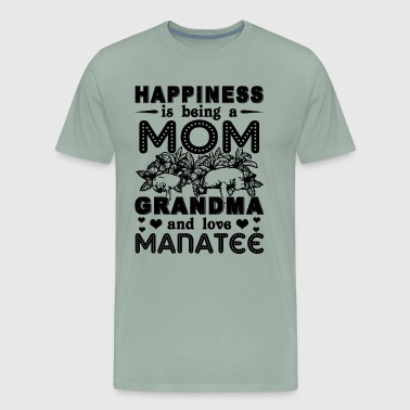 Mom Grandma Love Manatee Shirt - Men's Premium T-Shirt