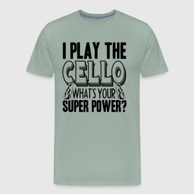 I Play The Cello Shirt - Men's Premium T-Shirt