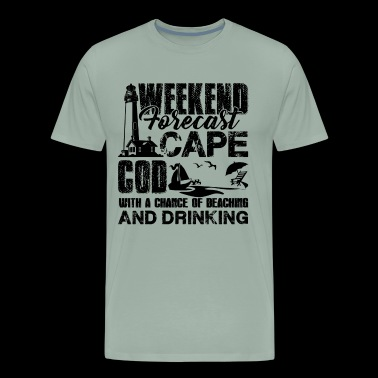 Cape Cod Weekend Forecast Shirt - Men's Premium T-Shirt