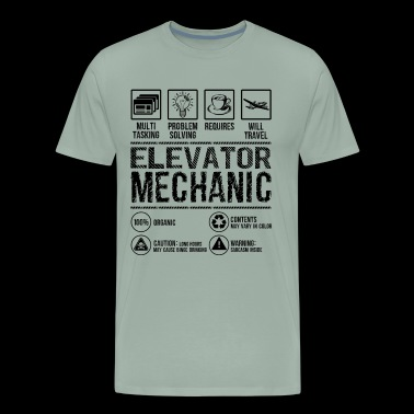 Elevator Mechanic Multitasking Shirt - Men's Premium T-Shirt