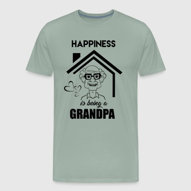 Happiness Is Being A Grandpa Shirt - Men's Premium T-Shirt