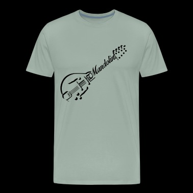 Mandolin Shirt - Mandolin Player T Shirt - Men's Premium T-Shirt