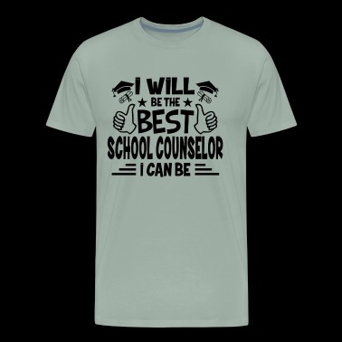 Best School Counselor Shirt - Men's Premium T-Shirt
