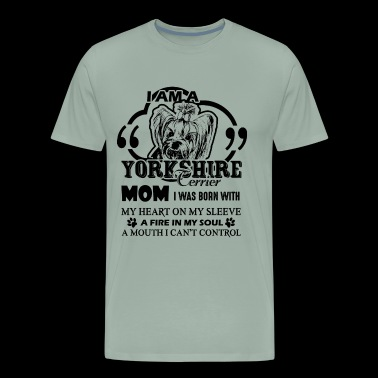 I'm A Yorkshire Terrier Mom Shirt - Men's Premium T-Shirt