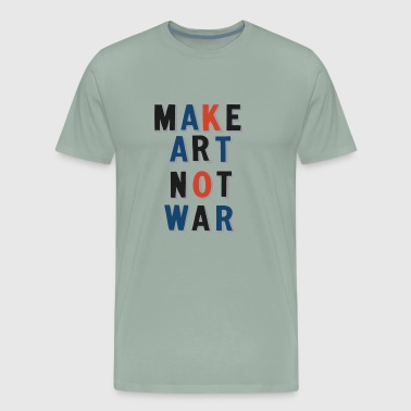 Peace with art - Men's Premium T-Shirt