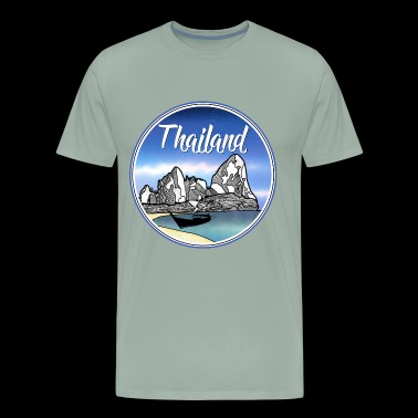 Thailand tropical beach - Men's Premium T-Shirt