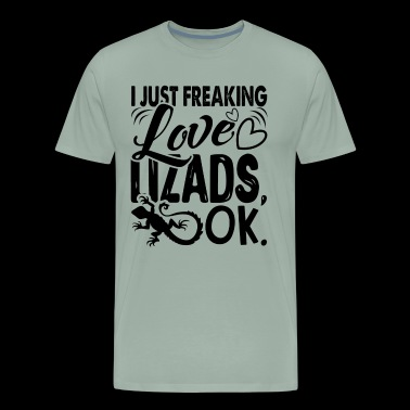Lizards Shirt - Love Lizards T shirt - Men's Premium T-Shirt
