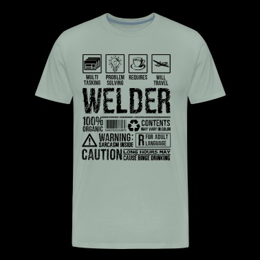 Welder Multitasking Shirt - Men's Premium T-Shirt
