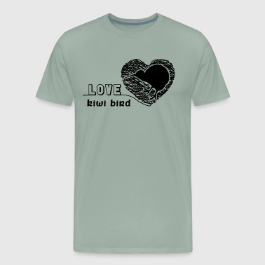 Love Kiwi Bird Shirt - Men's Premium T-Shirt