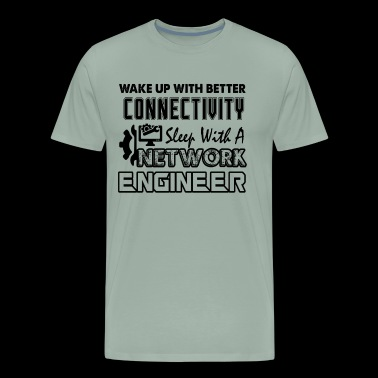 Sleep With A Network Engineer Shirt - Men's Premium T-Shirt