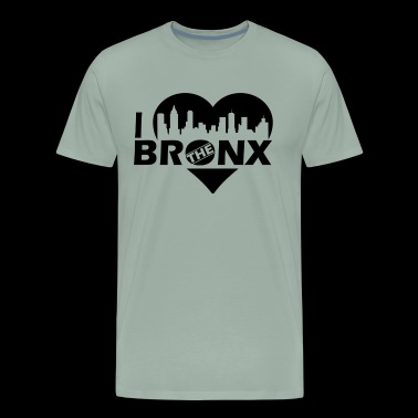 Bronx Shirt - I Love The Bronx T Shirt - Men's Premium T-Shirt