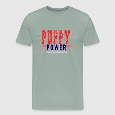 PUPPY POWER - Men's Premium T-Shirt