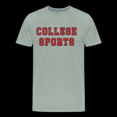 COLLEGE_SPORTS - Men's Premium T-Shirt
