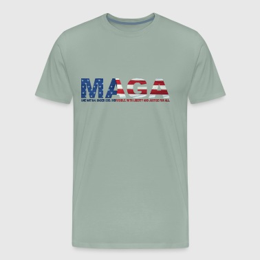 MAGA: Pledge of Allegiance - Men's Premium T-Shirt