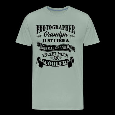 Photographer Grandpa Cooler Shirt - Men's Premium T-Shirt