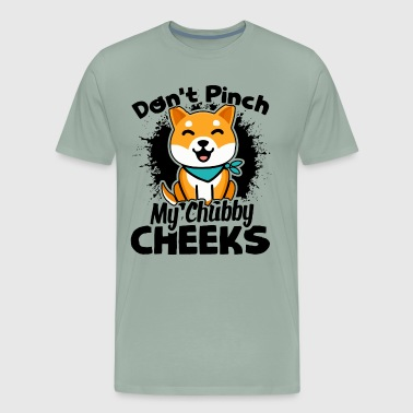 Don't Pinch My Shiba Inu Shirt - Men's Premium T-Shirt