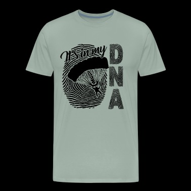 Skydiving Shirt - Skydiving In My DNA T Shirt - Men's Premium T-Shirt