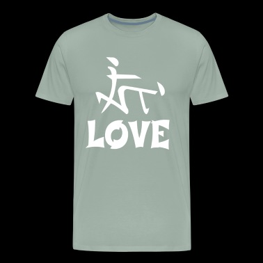 Funny Love Adult Seks Symbol - Men's Premium T-Shirt
