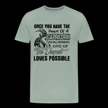 Capricorn Deepest Loves Possible Shirt - Men's Premium T-Shirt