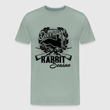 Deer Season Or Rabbit Season Shirt - Men's Premium T-Shirt