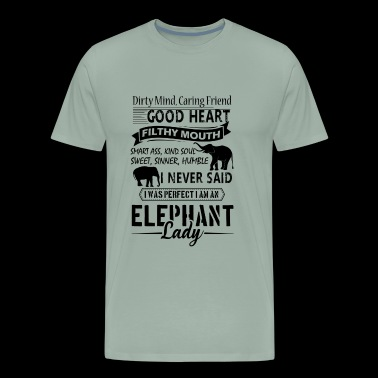 Elephant Lady Shirt - I Am An Elephant Lady Tshirt - Men's Premium T-Shirt