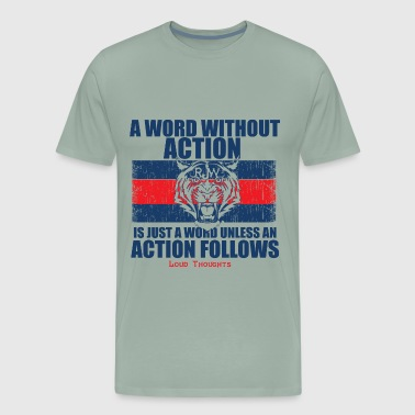 Word/Action - Men's Premium T-Shirt