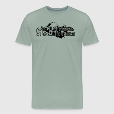 Sola Scriptura - Men's Premium T-Shirt