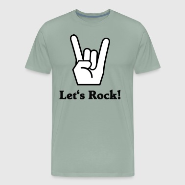 Let's Rock - Men's Premium T-Shirt