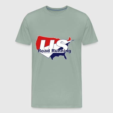 US Road Running Logo - Men's Premium T-Shirt
