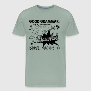 Narwhal Real World Shirt - Men's Premium T-Shirt