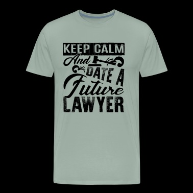 Date A Future Lawyer Shirt - Men's Premium T-Shirt