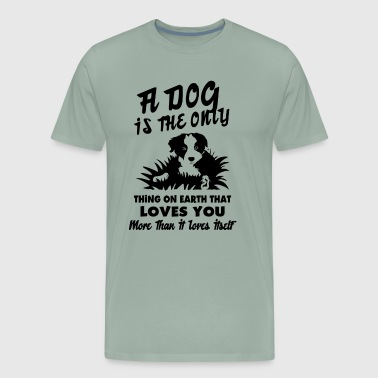 Border Collie Love Shirt - Men's Premium T-Shirt