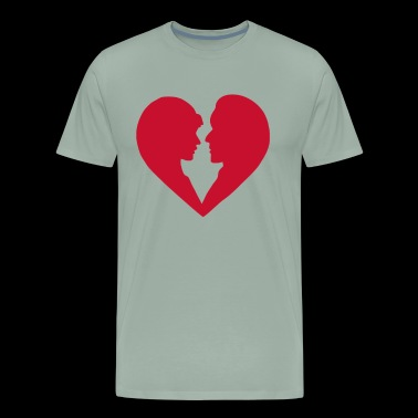 Lovers In Heart - Men's Premium T-Shirt