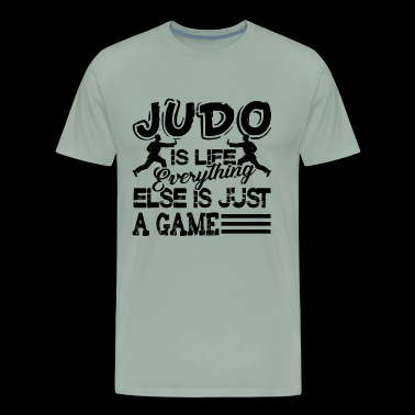 Judo Is Life Everthing Shirt - Men's Premium T-Shirt