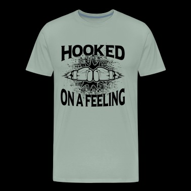 Boxing Hooked On A Feeling Shirt - Men's Premium T-Shirt