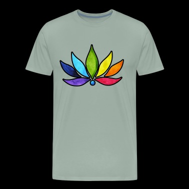 Chakra Shirt - Chakra Colors T shirt - Men's Premium T-Shirt
