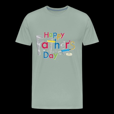 Happy Fathers Day - Men's Premium T-Shirt