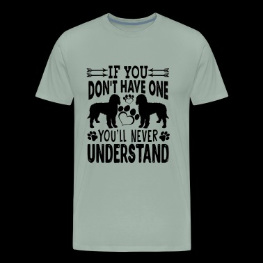 Labradoodle Dog Never Understand Mug - Men's Premium T-Shirt