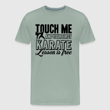 First Karate Lesson Shirt - Men's Premium T-Shirt