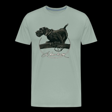 A Born Hunter - Men's Premium T-Shirt