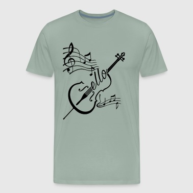 Play Cello Shirt - Men's Premium T-Shirt